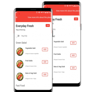 android app food ordering