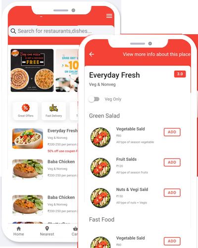 ios app food ordering